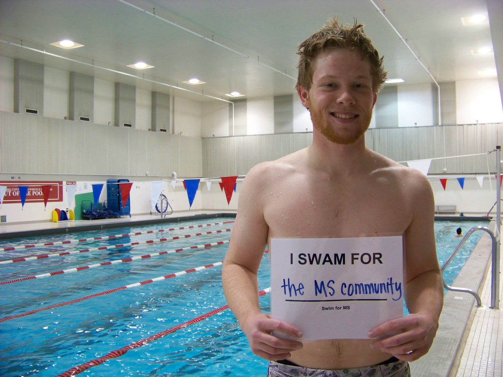 I Swam for the MS Community