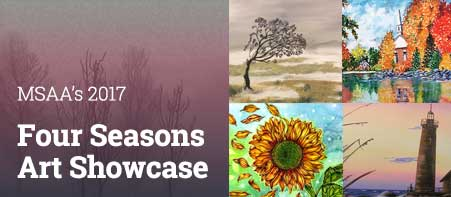 2017 Four Seasons Art Showcase Logo