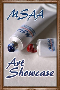 MSAA Art Showcase - featuring artists with MS