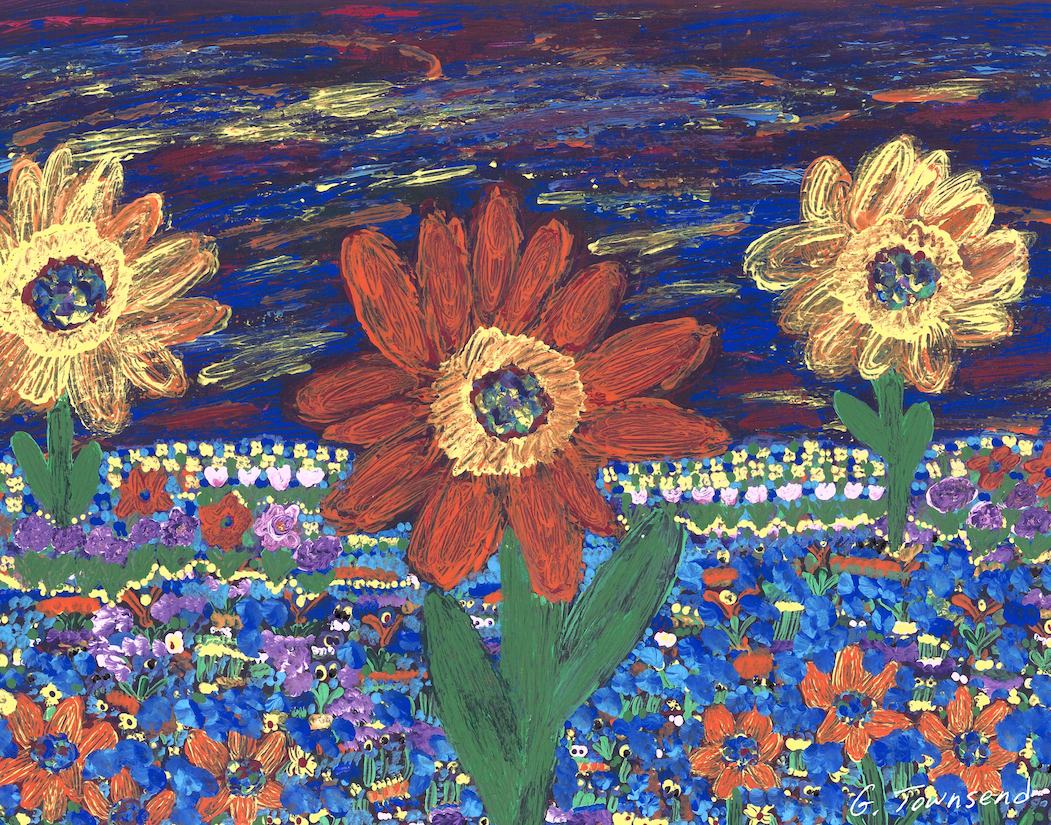 Field of Flowers by Ginny Townsend