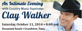 An Intimate Evening with Clay Walker