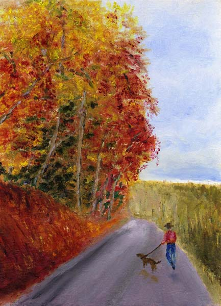 Barbara Hall - Autumn Walk