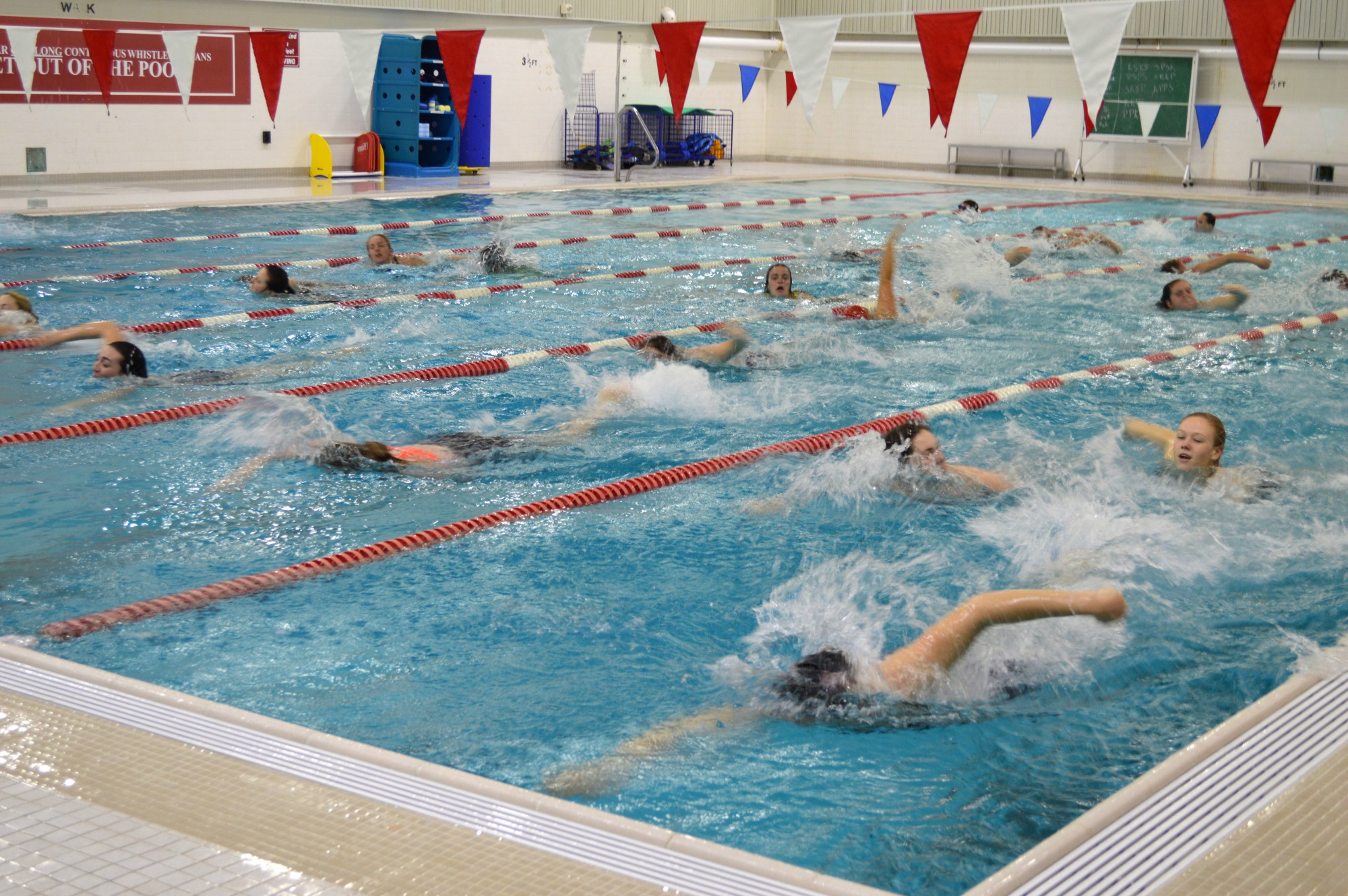 Temple University Campus Recreation Swim for MS