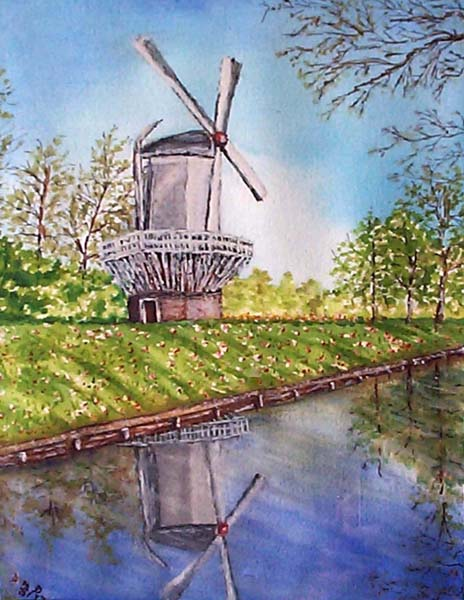Windmill by David Desjardins