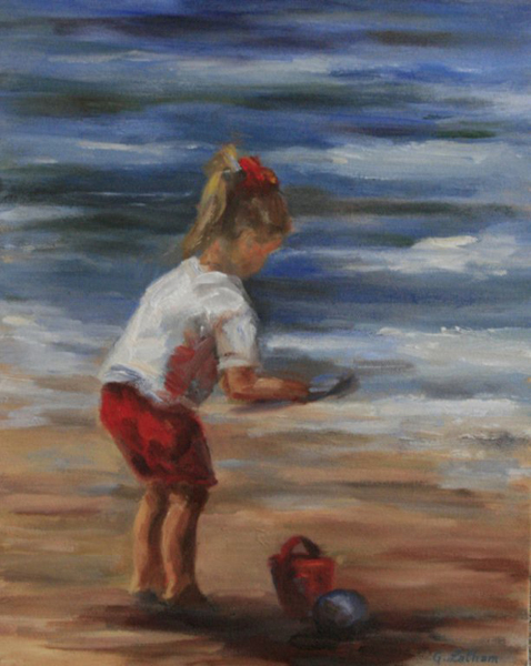 Beach Girl by Ginger Latham
