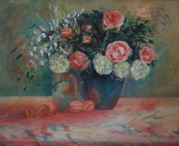 Pretty Petals and Peaches by Lucinda Mierek