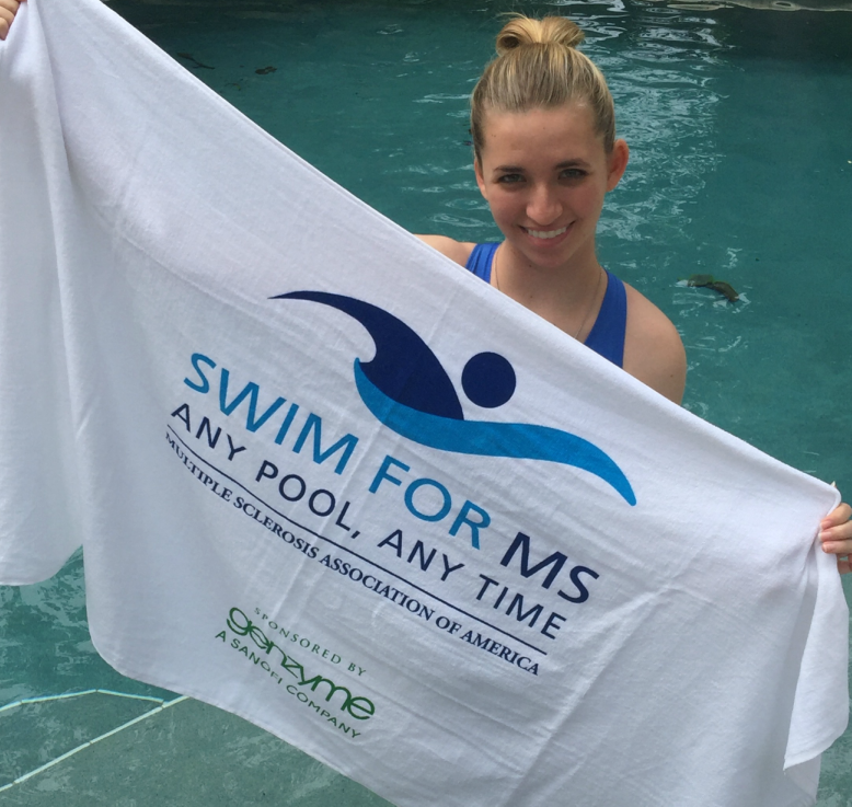 Olivia Pizano - Swim for MS