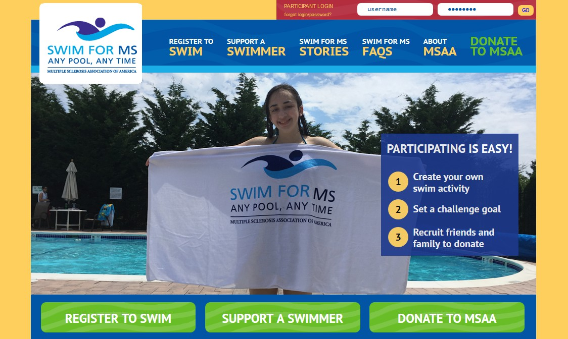 Swim for MS Website