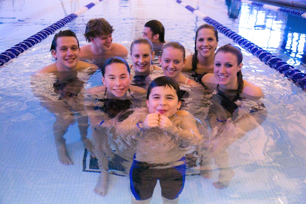 Plan a Group Swim Event