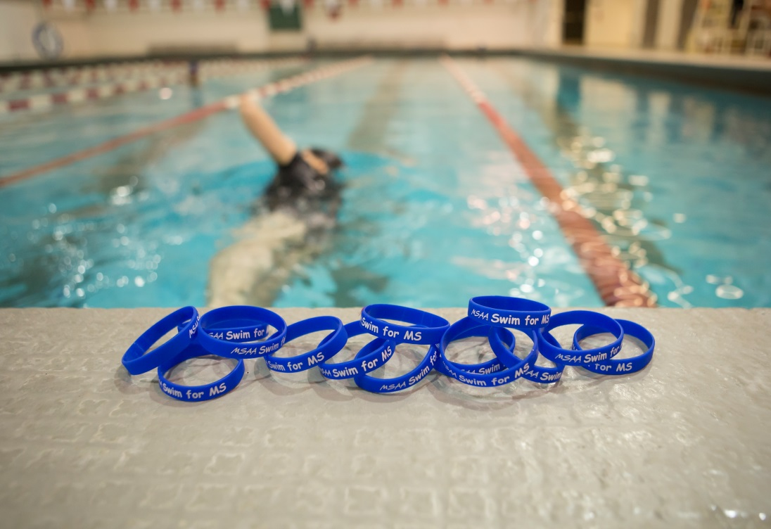 Swim for MS Wristbands