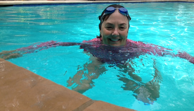 Swim for MS - Vicki von Arx