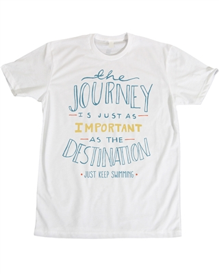Swim for MS Journey t-shirt from Wearable Hope