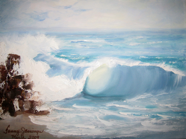Ocean Wave by Tammy Jennings