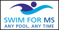 Swim for MS Logo