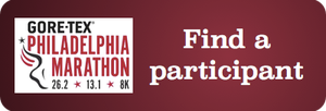 Locate an individual or team participating in the 2014 Gore-Tex Philadelphia Marathon